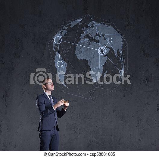 concept, financiën, succes, zakelijk, zakenman, investering - csp58801085