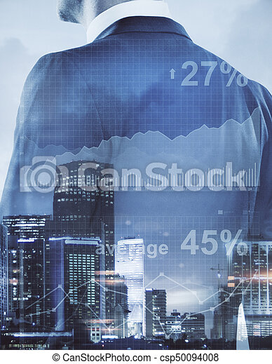 concept financier, croissance - csp50094008