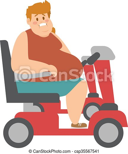 concept fitness weight loss fat man and thin sports guy eps rh canstockphoto com Fat Guy Eating Clip Art Fat Guy Eating a Sub
