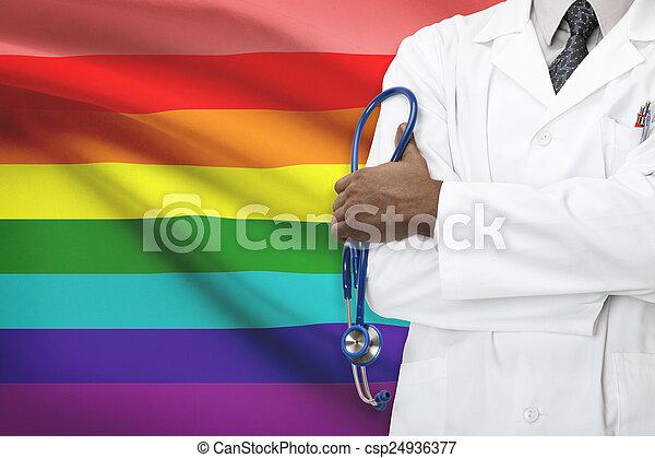 concept, gay, bisexuel, national, healthcare, -, système, lgbt-, transgender, lesbienne, gens - csp24936377