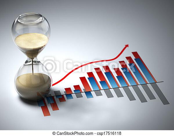 concept., graph., business, sablier - csp17516118