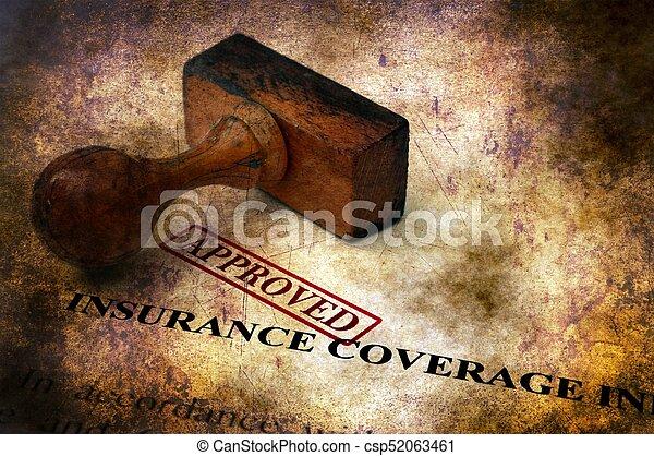concept, grunge, -, assurance assurance, approuvé - csp52063461