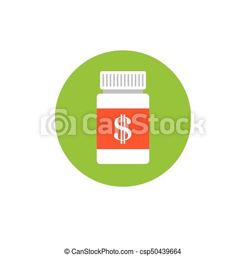 concept, het tonen, kosten, kosten, gezondheid, gezondheidszorg, duur, care - csp50439664