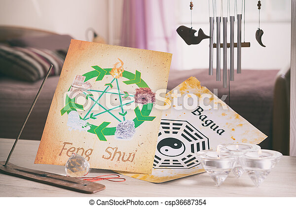 Concept image of Feng Shui - csp36687354