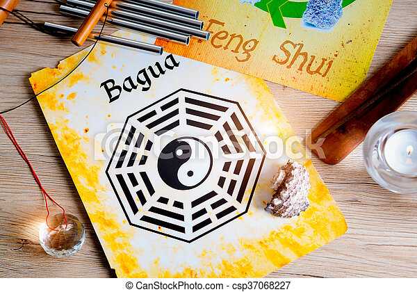 Concept image of Feng Shui - csp37068227