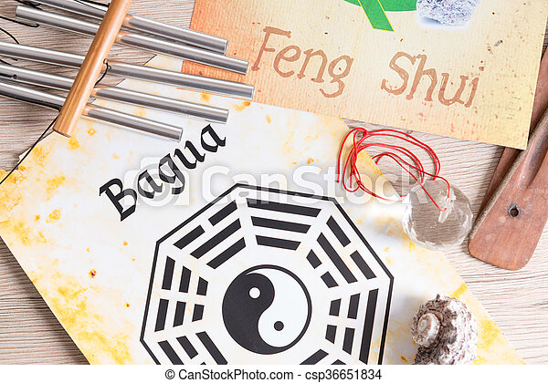 Concept image of Feng Shui - csp36651834