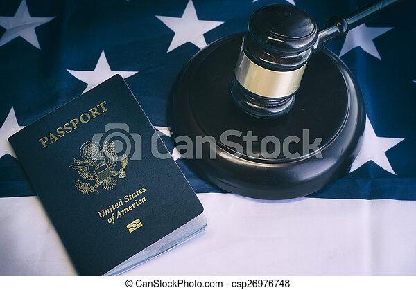 concept, immigration, nous, im, légal, droit & loi - csp26976748