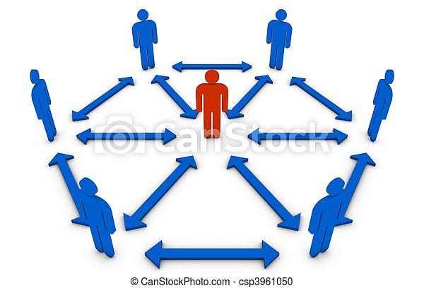 concept, leider, team - csp3961050