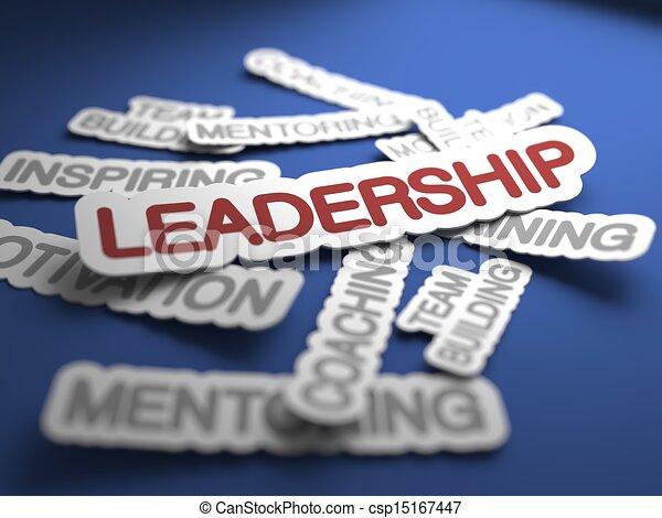 Concepto de liderazgo. - csp15167447