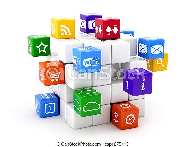 concept, logiciel - csp12751151