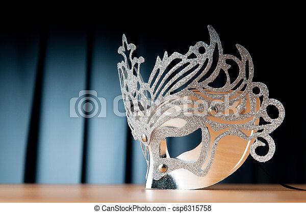 concept, masques, théâtre - csp6315758