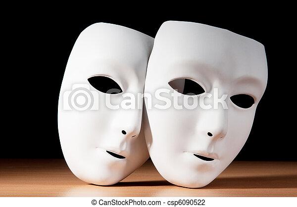 concept, masques, théâtre - csp6090522