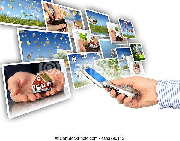 concept., multimedia - csp3790113