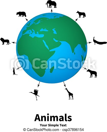 Image of: Greek Concept Of Animal Welfare Csp37896154 Rostrumlegal Concept Of Animal Welfare Vector Illustration Of The Concept Of