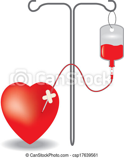 concept of blood donation eps10 vector illustration clip art vector rh canstockphoto com blood donation clipart graphics blood donation clipart