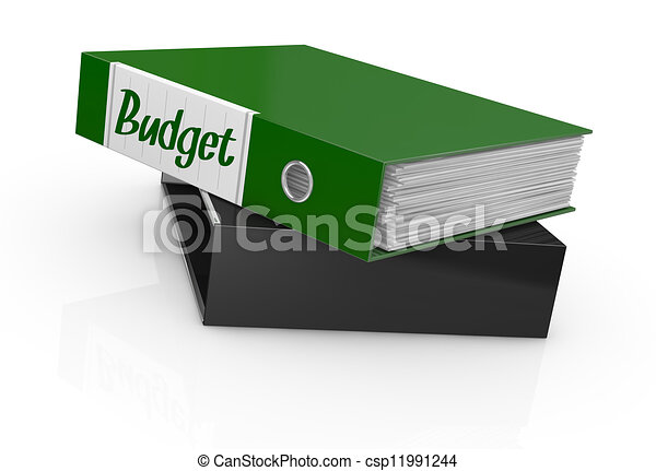 concept of budget - csp11991244