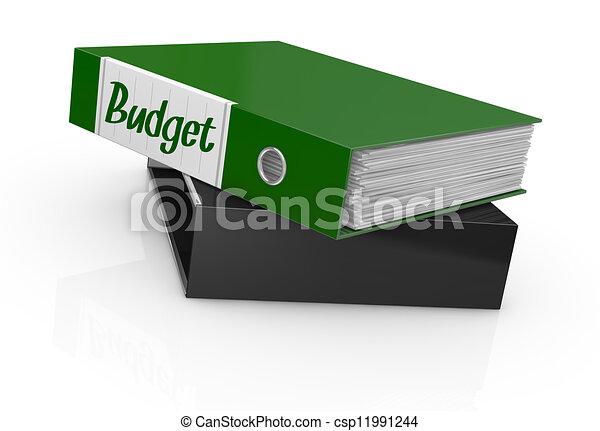 concept of budget - csp11991244