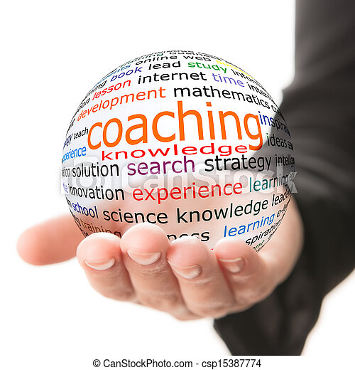 Concept of coaching in learning - csp15387774