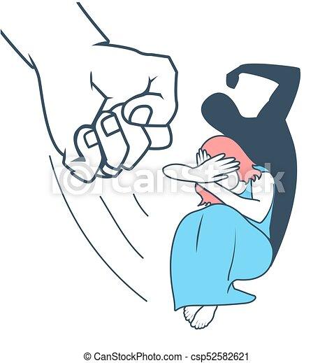 concept of domestic violence woman concept of domestic violence against a woman in the form of stop clip art free stop clip art black