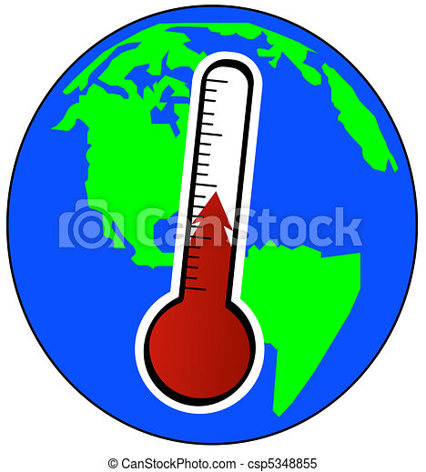 concept of global warming  - csp5348855