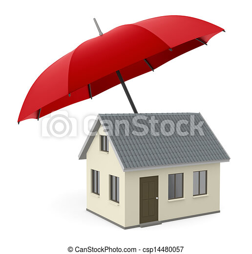 concept of house protection - csp14480057