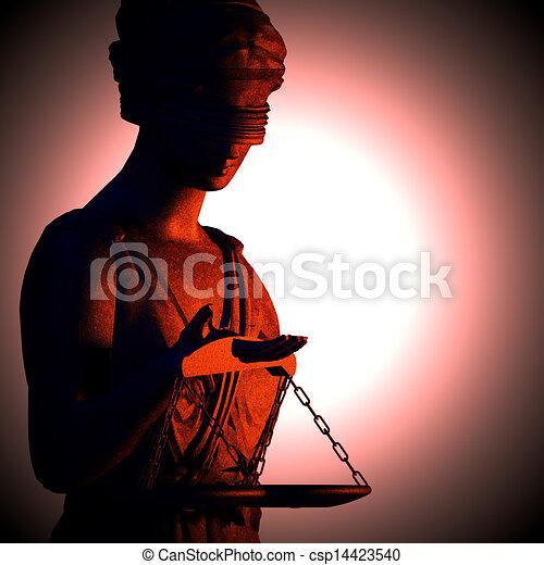 concept of justice - csp14423540