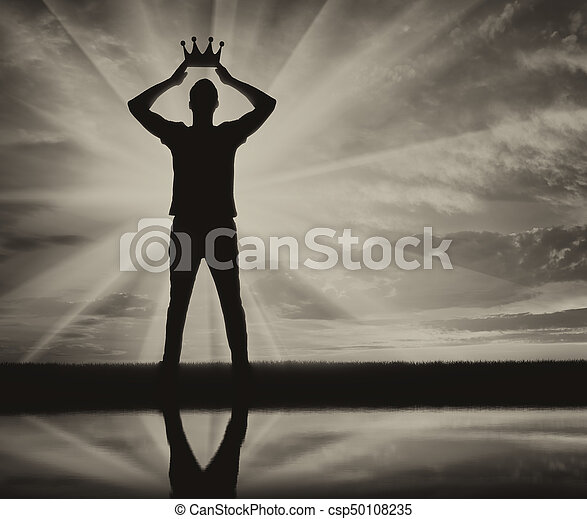 Concept of narcissism and selfishness - csp50108235