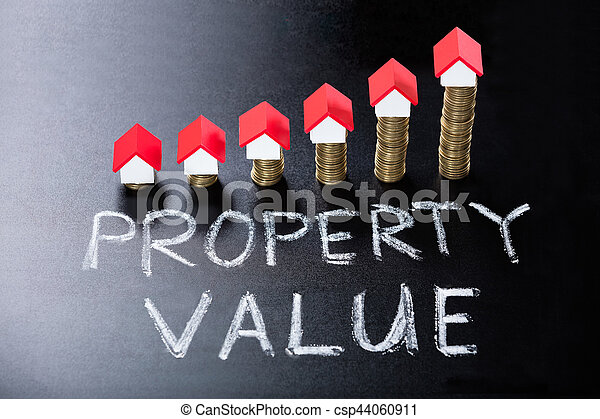 Concept Of Property Value On Blackboard - csp44060911