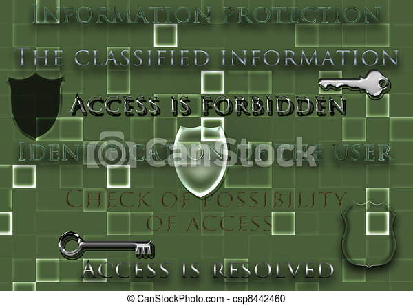 concept of protection of information - csp8442460
