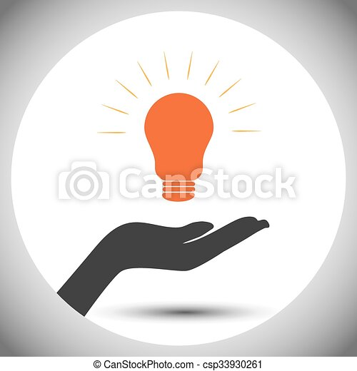 Concept Of Save Electricity Power Vector