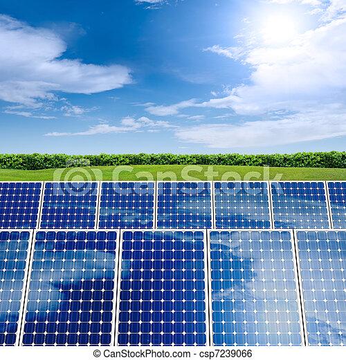 Concept of Solar Panel - csp7239066