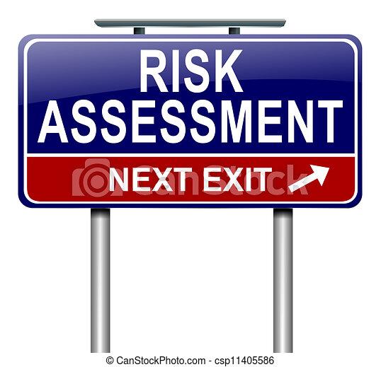 concept., oszacowanie, ryzyko - csp11405586