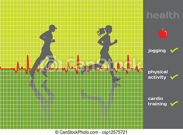 Concept: physical health - csp12575721