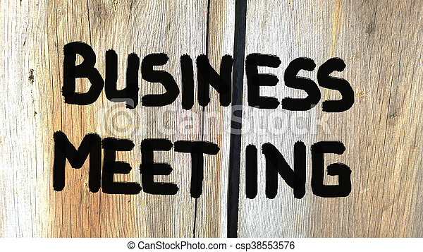 concept, réunion, business - csp38553576