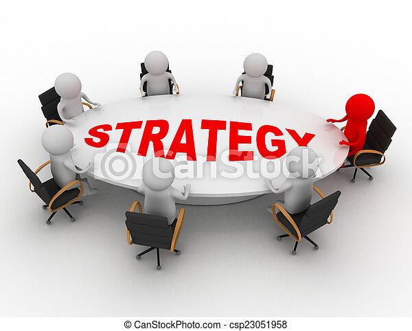 concept, réunion, business - csp23051958