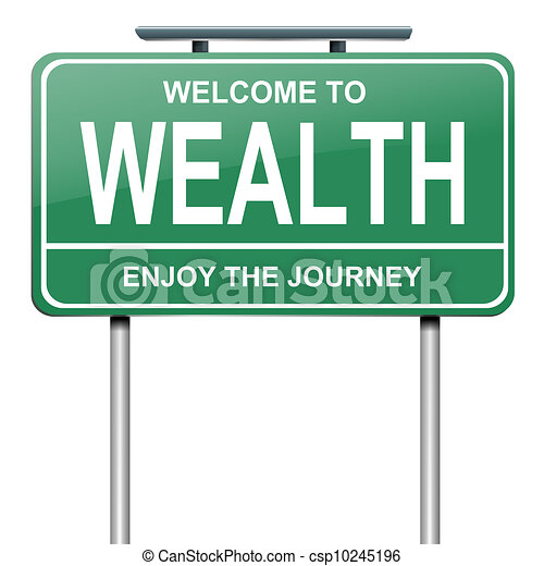 concept., richesse - csp10245196