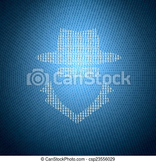 Concept Security Illustration - csp23556029