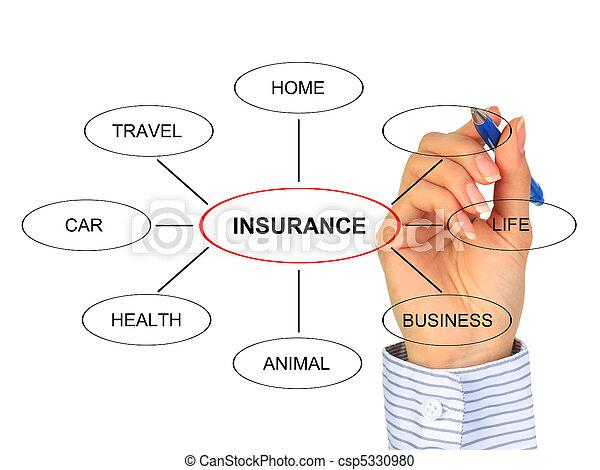 Un concepto de seguro. - csp5330980