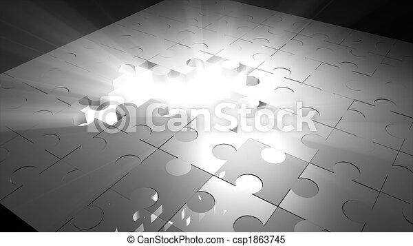 concept, stratégie, business - csp1863745