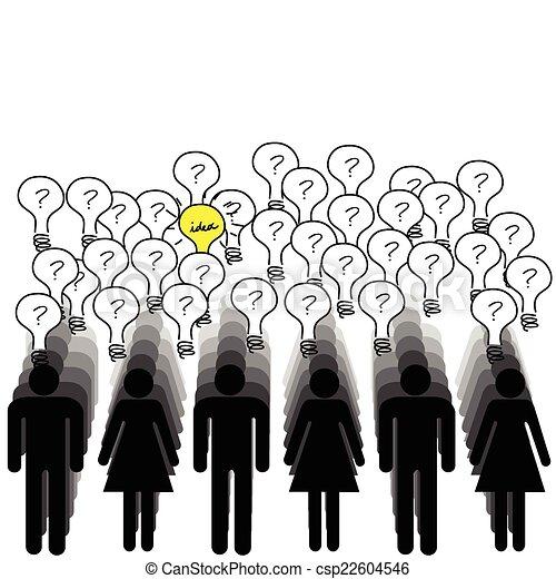 concept, succes, mensen, idee, partij, hebben - csp22604546