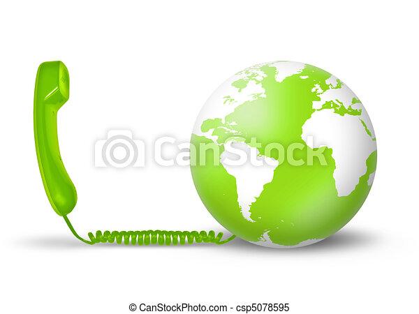 concept, télécommunications - csp5078595
