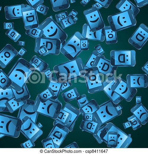concept., télécommunications - csp8411647