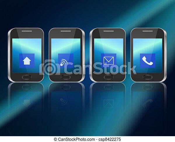 concept., télécommunications - csp8422275