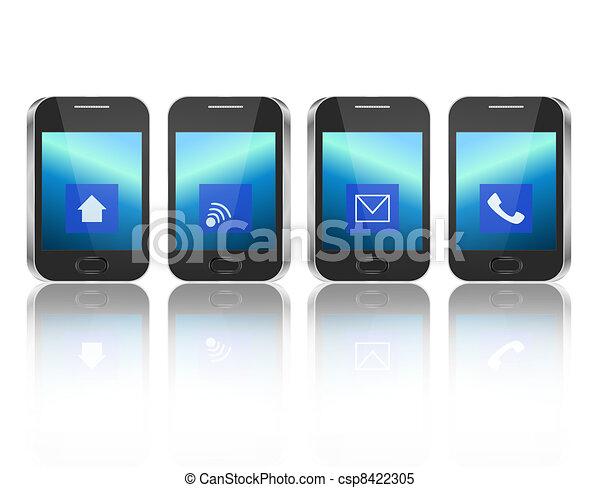 concept., télécommunications - csp8422305
