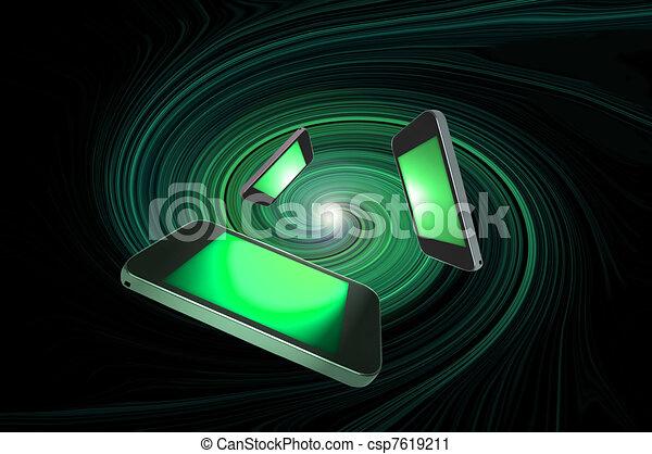 concept., télécommunications - csp7619211