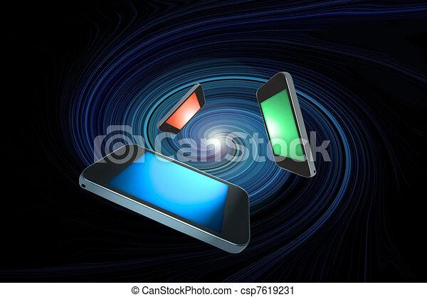 concept., télécommunications - csp7619231