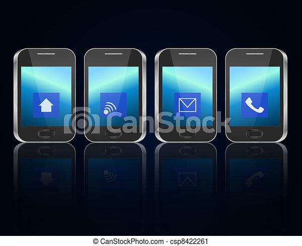 concept., télécommunications - csp8422261