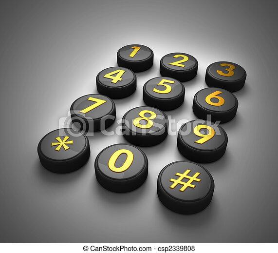 concept, télécommunications - csp2339808