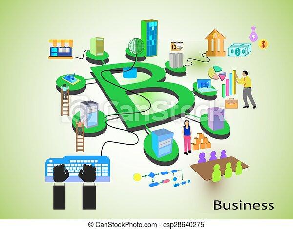 concept, technologie, business - csp28640275