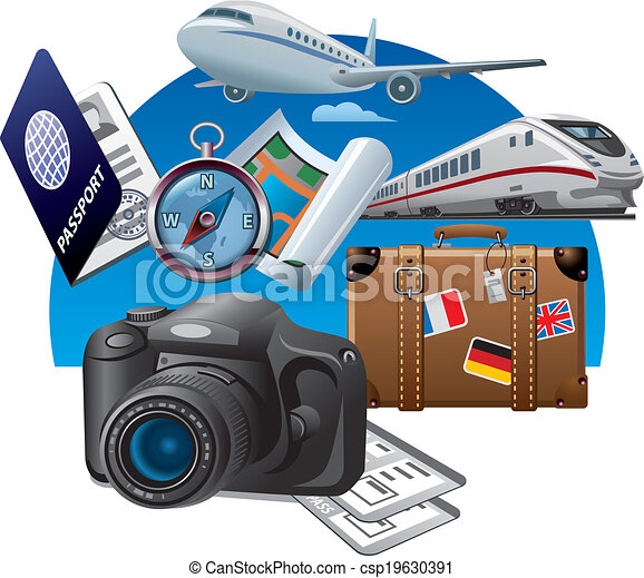 concept, tourisme, icône - csp19630391